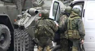Сотрудники силовых структур. Фото http://www.riadagestan.ru/