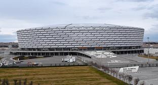 Бакинский олимпийский стадион. Фото: Sputnik/ Murad Orujov, http://ru.sputnik.az/life/20160208/403666477.html