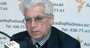 Адвокат Асабали Мустафаев. Фото: RFE/RL