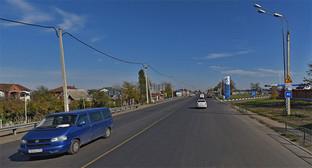 Ростовское шоссе, Краснодар. Фото: Яндекс-карты