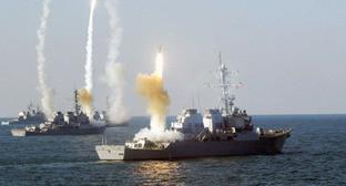 Корабли Каспийской флотилии. Фото www.riadagestan.ru