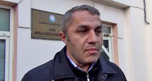 Адвокат Ялчин Иманов. Фото http://musavat.com/
