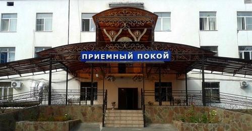 Вход в приемный покой Малгобекской центральной районной больницы. Фото: Doctor06.ru