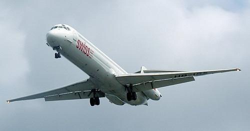 Авиарейсы между Тегераном и Астраханью планируется выполнять на самолетах MD-88 (на фото). Фото: https://ru.wikipedia.org/wiki/McDonnell_Douglas_MD-80#/media/File:Swiss.hb-isx.750pix.jpg