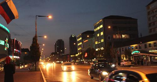 """Грозный. Чечня. Фото: Магомеда Магомедова для """"Кавказского узла"""""""