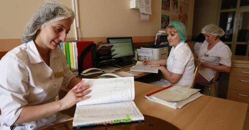 Медицинские работники. Фото: Геннадий Аносов / Югополис