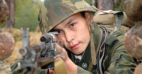 Учения российских мотострелков. Фото http://mil.ru/et/news/more.htm?id=11408936@egNews