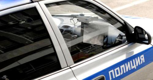 Полицейская машина. Фото yugopolis.ru