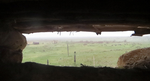 """Боевые позиции в зоне карабахского конфликта. Нагорный Карабах. Фото Алвард Гигорян для """"Кавказского узла"""""""