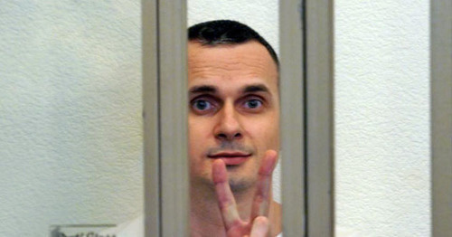 Олег Сенцов. Фото Антона Наумлюка (RFE/RL)