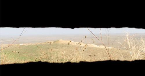 """Между армянским и азербайджанскими постами несколько десятков метров. Нагорный Карабах. Фото Армине Мартиросян для """"Кавказского узла"""""""