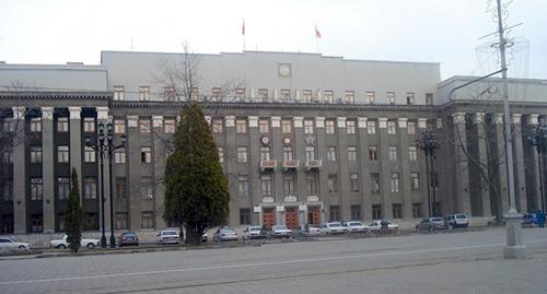 Здание правительства Северной Осетии. Фото: http://alaniatv.ru/