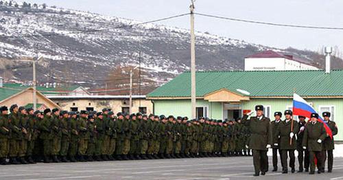 Российская военная база в Южной Осетии. Фото http://osinform.org/2016/01/15/