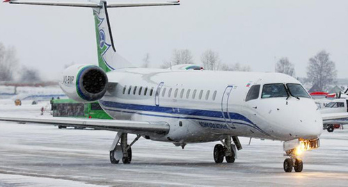 """Самолёт компании """"Комиавиатранс"""" Фото: http://www.aviabilet.ru/komiaviatrans-poluchila-litsenziyu-na-mejdunarodnyie-reysyi"""