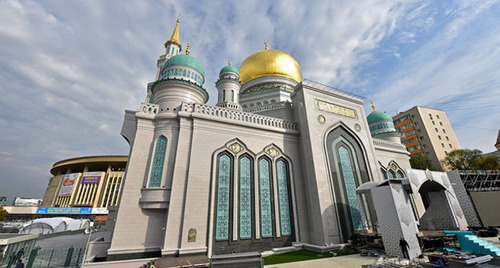 Соборная мечеть в Москве. Фото: http://stroi.mos.ru/photogallery/photo/moskovskaya-sobornaya-mechet-2