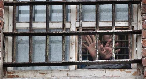 Тюремное окно. Фото: © Sputnik/ Алексей Куденко, http://sputnik-georgia.ru/society/20160302/230431743.html