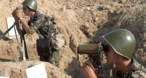 Передовая армии НКР. Фото: http://analitik.am/ru/news/view/263481