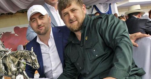 Рамзан Кадыров и Адам Делимханов (слева). Фото: RFE/RL