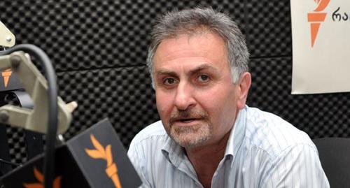 Грузинский адвокат Гела Николаишвили. Фото: Мзия Саганелидзе, RFE/RL http://www.ekhokavkaza.mobi/a/25383782.html