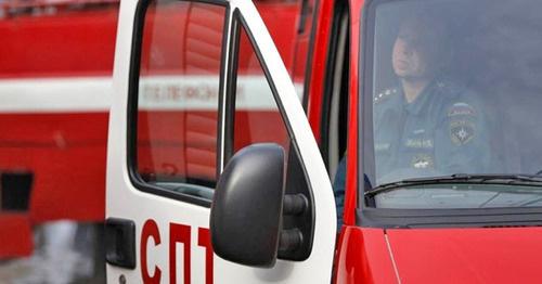 Пожарная машина. Фото: Геннадий Аносов / Югополис