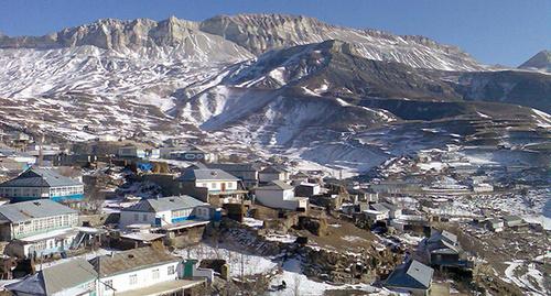 Гора Бахарган, селение Анди, Дагестан. Фото: http://odnoselchane.ru/?page=photos_of_category&sect=306&pg=4&com=photogallery