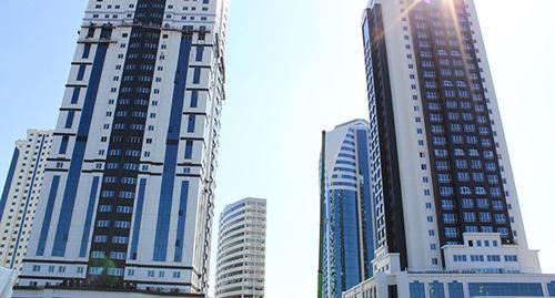 "Башни ""Грозный-сити"" Фото: Салман, https://ru.wikipedia.org/wiki/Грозный-Сити"
