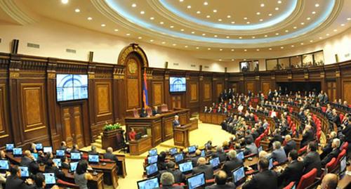 Заседание парламента Армении. Фото: www.prezident.am