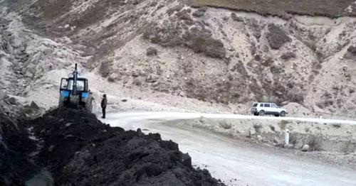 Трасса Мехельта – Тлярата в Гумбетовском районе Дагестана. Фото http://www.riadagestan.ru/