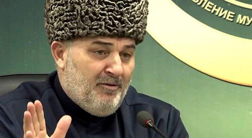 Муфтий Иса Хамхоев. Кадр из видео пользователя Ингушетия. Org https://www.youtube.com/watch?v=GXGPT29-bcI