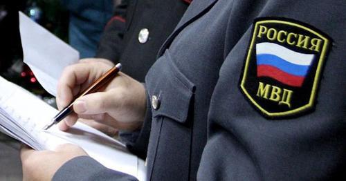 Сотрудник полиции. Фото: Юрий Гречко / Югополис