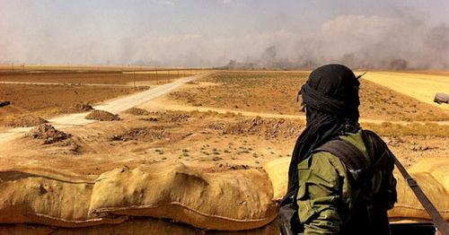 Война в Сирии. Фото: Kurdish YPG Fighter https://www.flickr.com