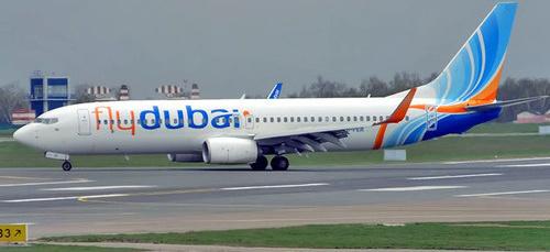 Самолет авиакомпании FlyDubai. Фото: Anna Zvereva https://en.wikipedia.org