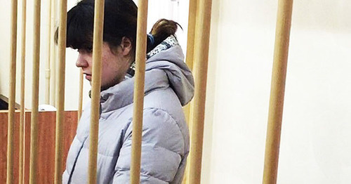 Варвара Караулова (Александра Иванова). Фото: пресс-служба Лефортовского суда Москвы