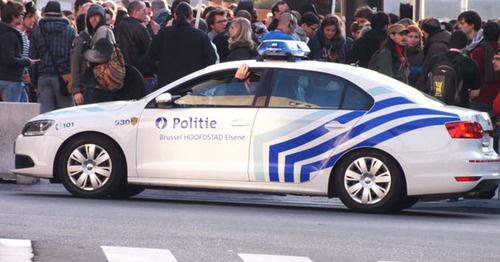 Полицейская машина на улицах Брюсселя. Фото пользователя Keith Laverack https://www.flickr.com