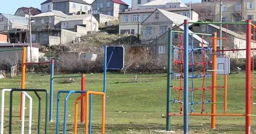 """Детская площадка интерната """"Забота"""". Махачкала. Фото http://www.riadagestan.ru/"""