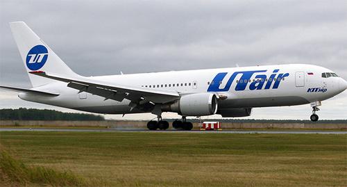 Самолет авиакомпании «ЮТэйр». Фото: https://www.utair.ru/about/aircrafts/plane/boeing-767-200/#gal