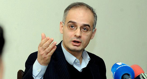Глава парламентской фракции Армянского национального конгресса Левон Зурабян. Фото: http://minval.az/news/123501525
