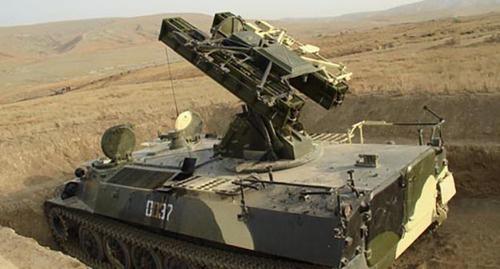 Военная техника азербайджанской армии. Фото: http://www.mod.gov.az/index2.php?content=photo