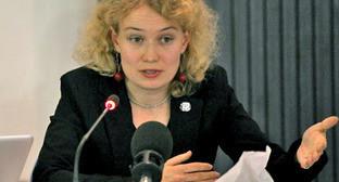 Саша Кулаева. Фото: FIDH http://reporter.by/Belarus/Sasha-Kulaeva-Vypadak-Alesja-Bjaljackaga-vyhodz-c-za-ramk-belaruskai-sytuacy/