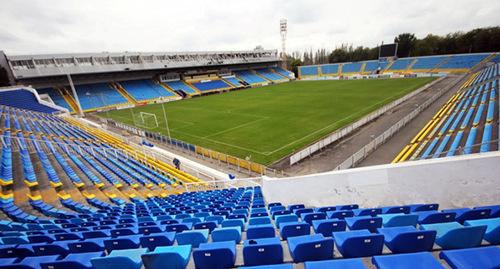 "Стадион ФК ""Ростов"" Фото: http://www.fc-rostov.ru/club/stadium"