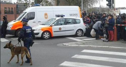 Оцепление в Брюсселе района теракта. Фото: Главный Редактор, https://www.flickr.com/photos/133374212@N02/25390840434/in/photolist-EEd74G-EFGGfW/