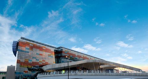 "Ереванский аэропорт ""Звартноц"". Фото: Armenia The World, https://ru.wikipedia.org/wiki/Звартноц_(аэропорт)#/media/File:Zvartnots_airport.jpg"
