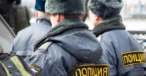 Сотрудники полиции. Фото http://www.riadagestan.ru/