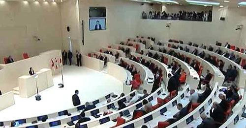 Заседание парламента Грузии. Фото http://minval.az/k/karlo-kopaliani