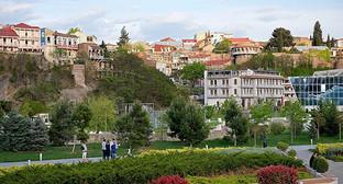 Тбилиси, исторический центр. Фото:© Sputnik/ Alexander Imedashvili, http://sputnik-georgia.com/images/23124/71/231247118.jpg