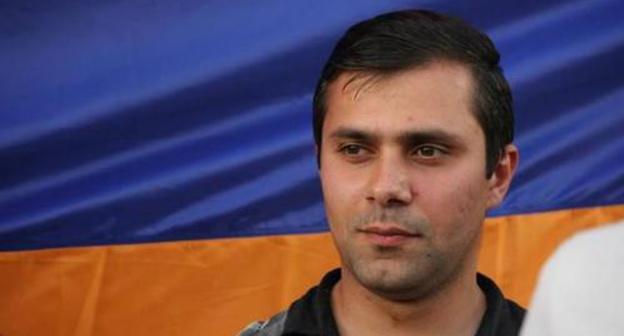 Геворга Сафарян. Фото: http://news.gisher.ru/ru/society/aktivist-gevorg-safaryan-byl-izbit-v-policejskom-avtomobile.html