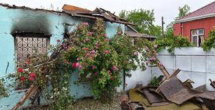 Разрушенный дом Агдамского района Азербайджана. Фото: © SPUTNIK/ MURAD ORUJOV, http://ru.sputnik.az/photo/20160502/404956119.html