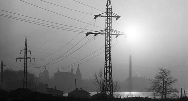 ЛЭП. Фото:  Sputnik/ Валерий Шустов, http://www.sputnikarmenia.ru/armenia/20160227/2247596.html