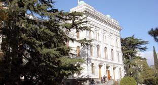 Здание Тбилисского госуниверситета. Фото: Tsu.ge