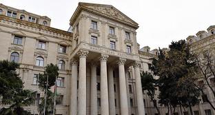 Здание МИД Азербайджана. Фото: © Sputnik/ Murad Orujov, http://ru.sputnik.az/politics/20160427/404870953.html